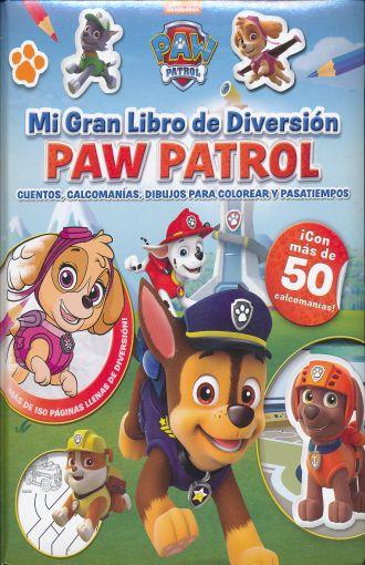 Paw Patrol Mi Gran Libro De Diversion Paw Patrol Cuentos Calcomanias Dibujos Para Colorear Y Pasatiempos Pd