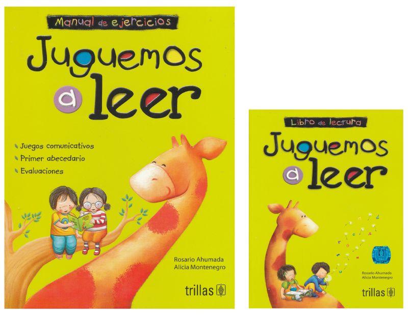 Paq Juguemos A Leer 11 Ed Manual De Ejercicios Libro De Lectura Ahumada Rosario Libro En Papel 9786071736925 Libreria El Sotano