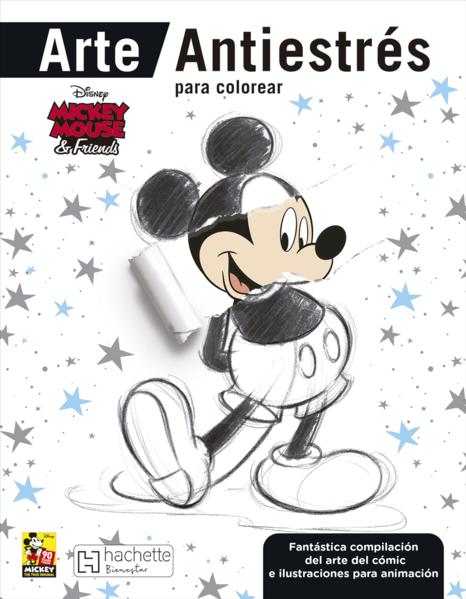 Mickey Mouse Friends Arte Antiestres Para Colorear Disney