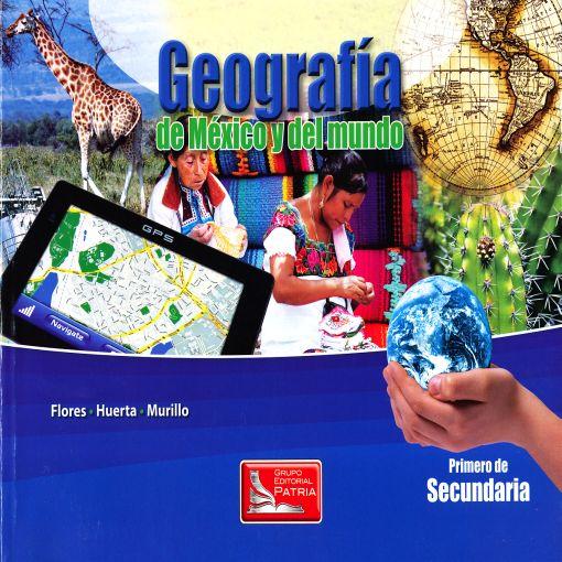 GEOGRAFIA DE MEXICO Y DEL MUNDO 1  SECUNDARIA