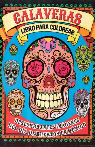 Calaveras Libro Para Colorear