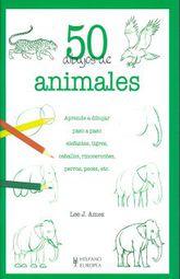 50 Dibujos De Animales Aprende A Dibujar Paso A Paso Elefantes Tigres Caballos Rinocerontes Perros Peces Etc 2 Ed