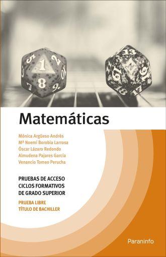 Matematicas Temario Pruebas De Acceso A Ciclos Formativos De Grado Superior