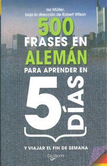 500 Frases En Aleman Para Aprender En 5 Dias Y Viajar El Fin De Semana