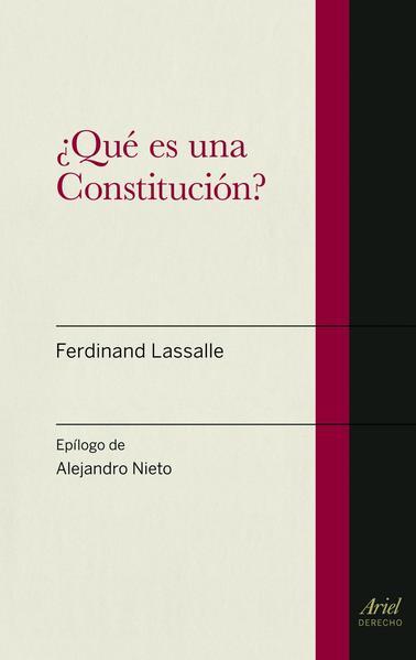 que es una constitucion ferdinand lassalle pdf descargar gratis