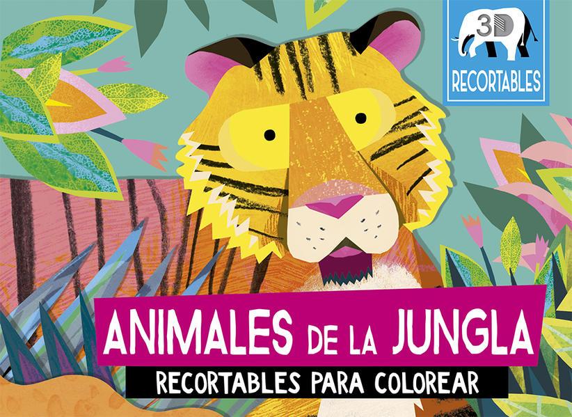 Animales De La Jungla Recortables Para Colorear Pd Durley