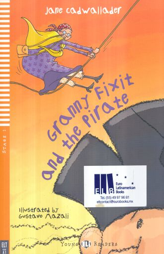 GRANNY FIXIT AND THE PIRATE  A1 STAGE 1 (INCLUYE CD)
